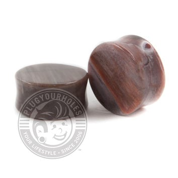 Petrified Wood Stone Plugs