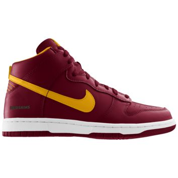Nike Dunk High (NFL Washington Redskins) iD Men's Shoe
