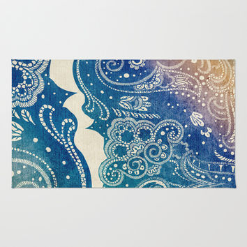 Mermaid Princess  Rug by Rskinner1122
