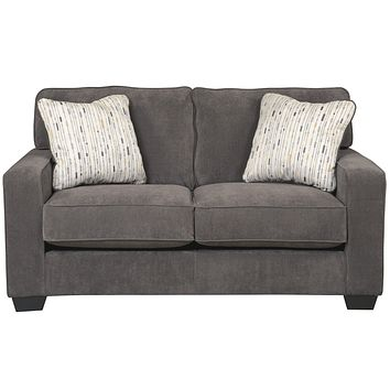 Signature Design by Ashley Hodan Loveseat in Microfiber
