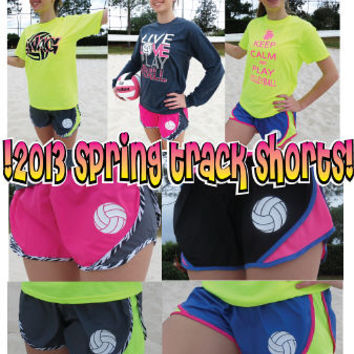 """Volleyball """"Track"""" Shorts - 2013"""