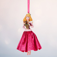 Disney Store 2016 Princess Aurora Sketchbook Christmas Ornament New With Tags