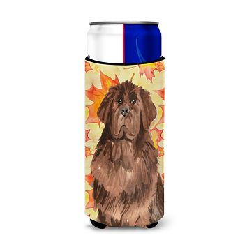 Fall Leaves Newfoundland Michelob Ultra Hugger for slim cans CK1832MUK