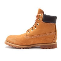 Women's | Timberland Earthkeepers® 6 Inch Premium Boot - Wheat Nubuck - FREE SHIPPING at Shoes.com