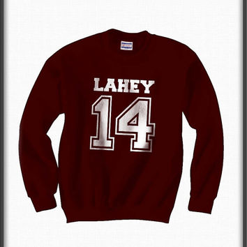Lahey 14 teen wolf beacon hills lacrosse Unisex Crewneck Sweatshirt S to 3XL