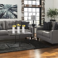 53901 - The Brindon Living Room Set - Charcoal