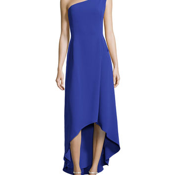 Women's Floral-Detail One-Shoulder Gown, Wisteria - Halston Heritage - Wisteria (0)