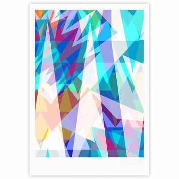 "Miranda Mol ""Triangle Party"" Multicolor Fine Art Gallery Print"