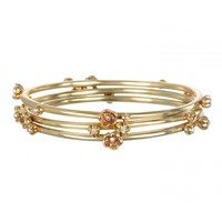 Golden Buds Bracelet Set | Capwell