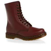 Dr Martens 1490 Smooth Boots - Cherry Red