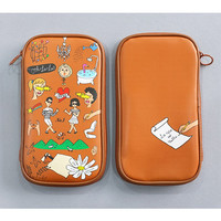 Oohlala Spark funny zip around pencil pouch