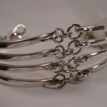 A Spoon Rings Plus Fork Bracelet Handmade Awesome Fork Jewelry f1