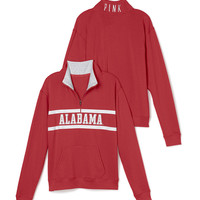 University of Alabama Boyfriend Half Zip