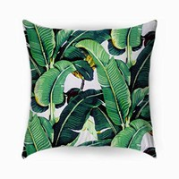 Banana Leaf - Pillowcases (18 x 18 ( two side ))