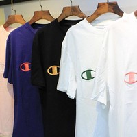 Champion Embroidered Logo Short sleeve t-shirt