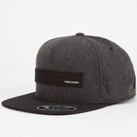 Volcom Bar Mens Hat Black One Size For Men 24693510001