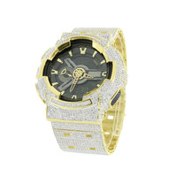 G-Shock GA110GD-9B Gold Watch Stainless Steel