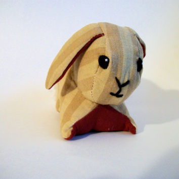Brown and Red Rabbit- Phoebe