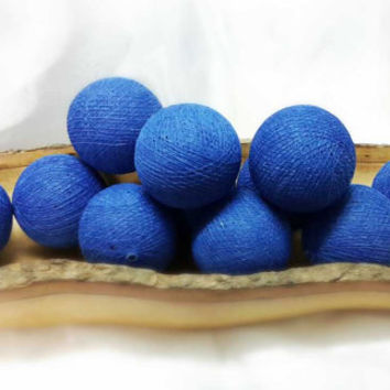100  ocean blue ball pom pom garland decorative handmade ball display lantern home decor DIY