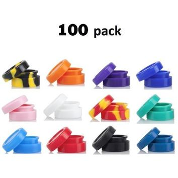 Silicone Dab Containers - non stick 100 pack