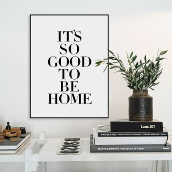 Modern Nordic Minimalist Black White Typography Life Quotes Art Print Poster Wall Picture Living Room Canvas Painting Home Decor