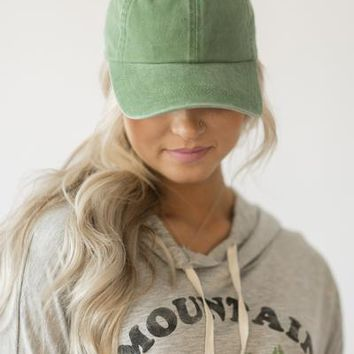 Baseball Hat - Green