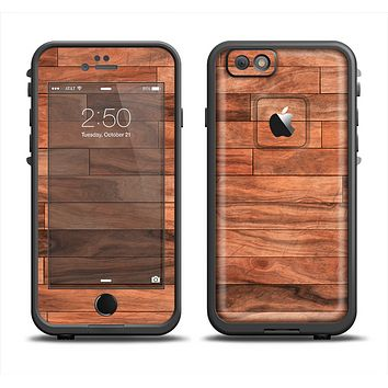 The Rich Wood Planks Apple iPhone 6 LifeProof Fre Case Skin Set