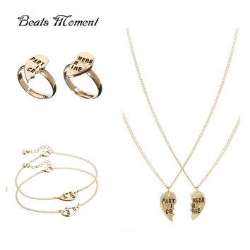 Partners In Crime Friendship Jewelry Sets
