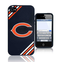 Chicago Bears IPhone 4 Case Silicone Logo