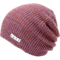 Neff Daily Heather Orange & Blue Beanie