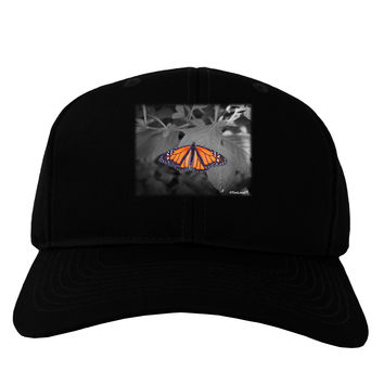 Monarch Butterfly Photo Adult Dark Baseball Cap Hat
