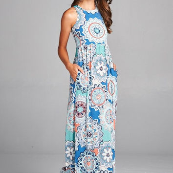 Patio Party Maxi Dress