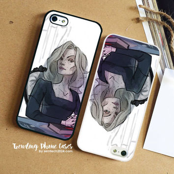 American Horror Story Coven  Portrait iPhone Case Cover for iPhone 6 6 Plus 5s 5 5c 4s 4 Case