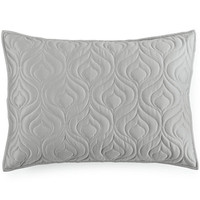 INC International Concepts Rizzoli Midnight Quilted Standard Sham, Only at Macy's - Bedding Collections - Bed & Bath - Macy's
