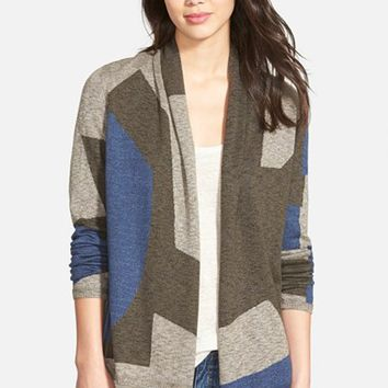 Women's NIC+ZOE 'Crisp' Colorblock Cardigan,