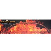 """The Hunger Games Katniss Hunting Bow Movie Prop Replica """"District 12"""" Limited Edition"""