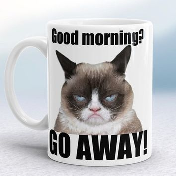 Copy of Grumpy cat - go away mug