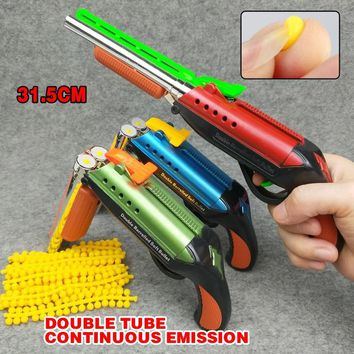 Soft Bullet Toy Gun For nerf Shooting Submachine Gun Weapon Soft Bullet Bursts Gun Funny Outdoors Toys For Kid