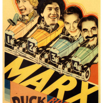 MARX BROTHERS' duck SOUP movie POSTER leo MCCAREY director 1933 24X36
