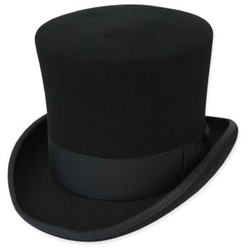 Victorian Top Hat, Black