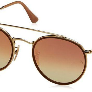 VONEA7H Ray-Ban Women's Round Aviator Flash Sunglasses
