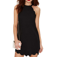 Halter Mini Dress