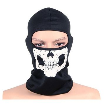 Cycling Protective Full Face Motorcycle Skull Mask