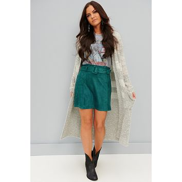 So Spoiled Long Cardigan (Grey)