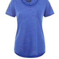 Blue Pocket Front T-Shirt