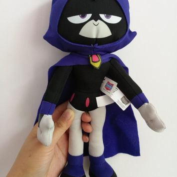 "Titans Go Raven Robin Beast Boy 11""Stuffed Plush toy doll new"