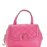Desert Oasis Quilted Leather Satchel by Juicy Couture