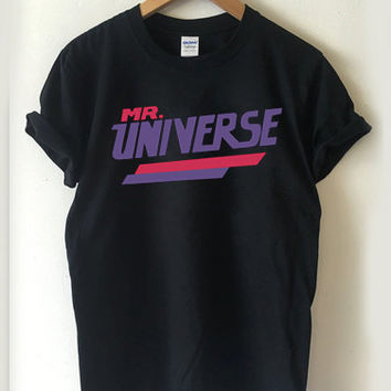 Steven Universe Mr Universe logo T-shirt Men, Women Youth and Toddler