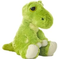 "Aurora World Dreamy Eyes ""T"" Dinosaur Green 10"" Plush"