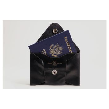 Death At Sea Passport Wallet